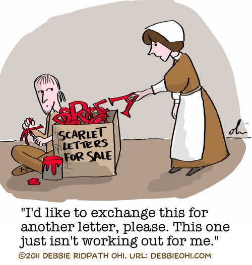 Mig Writers Comic The Scarlet Letter