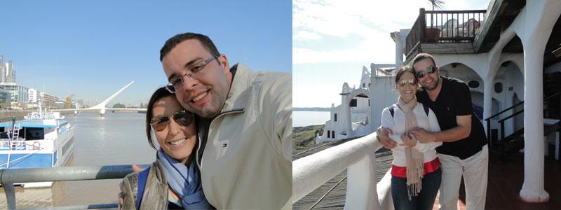 Conhecendo a Argentina e o Uruguai.