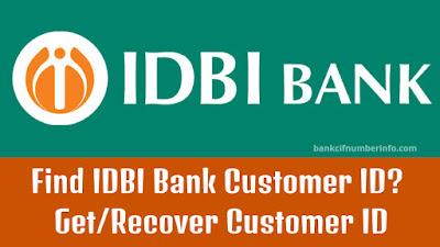 IDBI Bank Customer ID