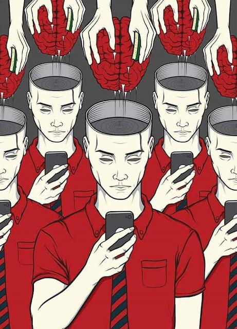 Bahkan otak kita pun sudah jarang digunakan dan mencari sesuatu hanya lewat instan, yaitu internet...
