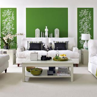 ruang+tamu+hijau Ciptakan Kesan Alami Bersama Ruang Tamu Hijau