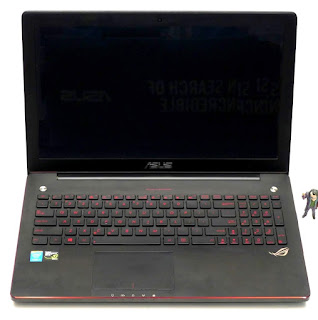 Laptop Gaming ASUS ROG G550J Core i7 Second
