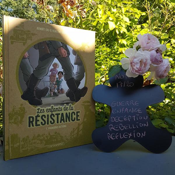 Les enfants de la résistance, tome 1 : Premières actions de Benoît Ers et Vincent Dugomier