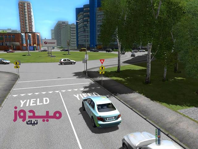 تحميل لعبة city car driving 1.4 1 من ميديا فاير