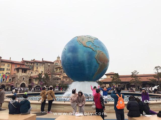 Disneysea Disneyland, Tokyo, Japan
