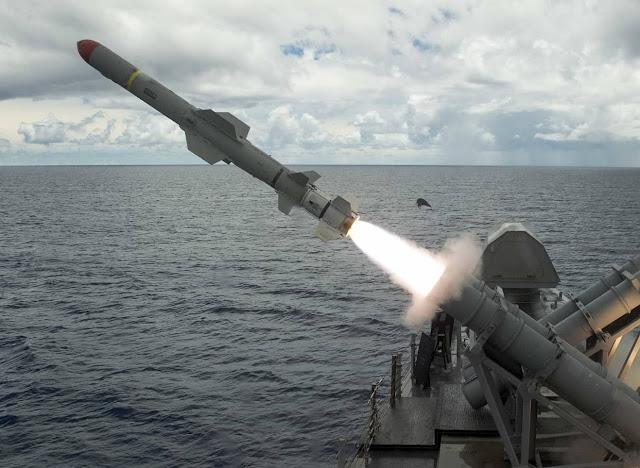 Boeing nhận 10 triệu Mỹ Kim để hỗ trợ sản xuất phi đạn Harpoon cho Ả Rập Saudi