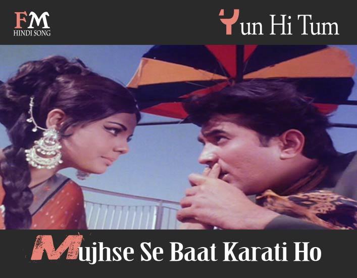 Yun-Hi-Tum-Mujhse-Se-Baat-Karati-Ho- Sachaa-Jhutha-(1970)