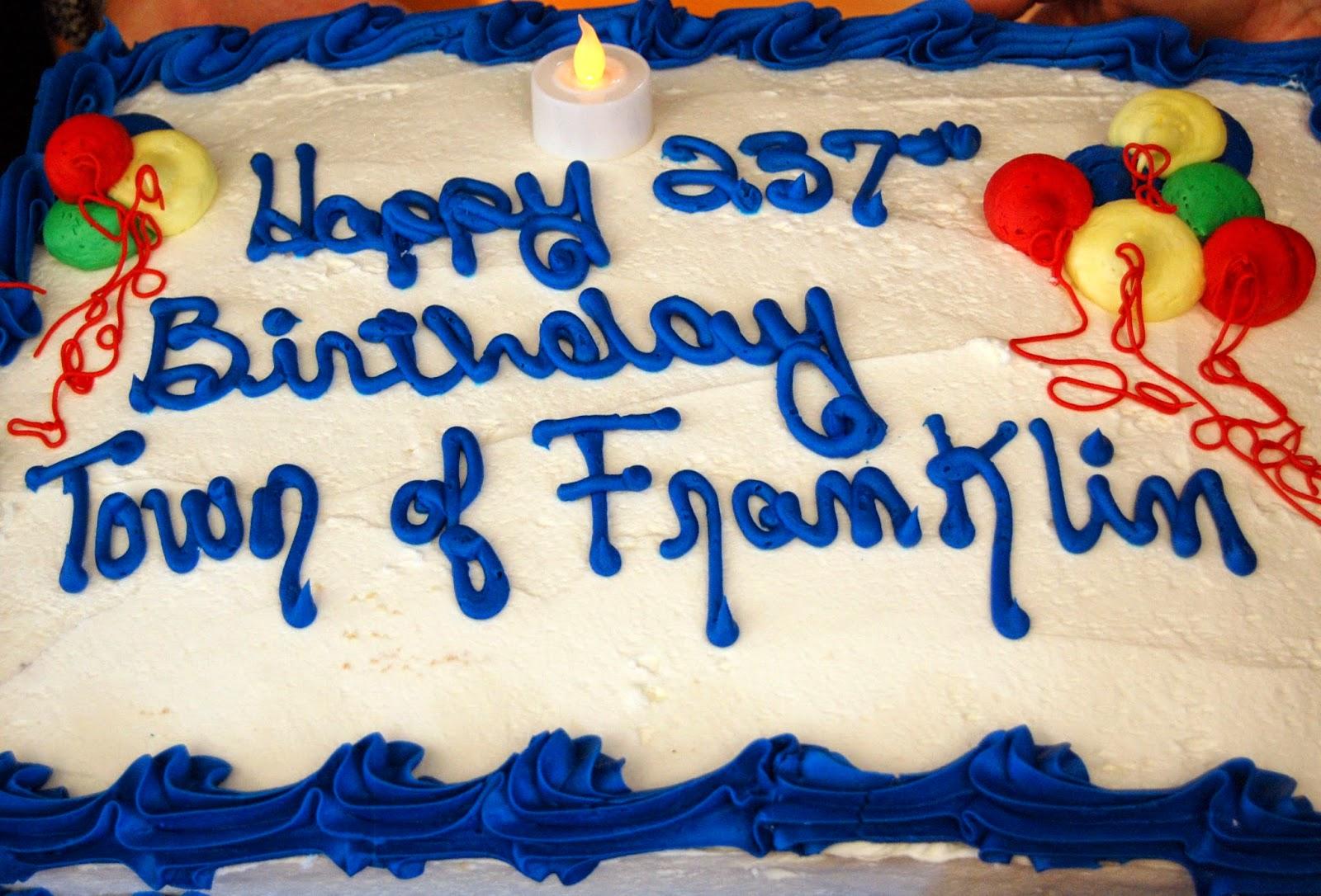 Residents Birthday Cake