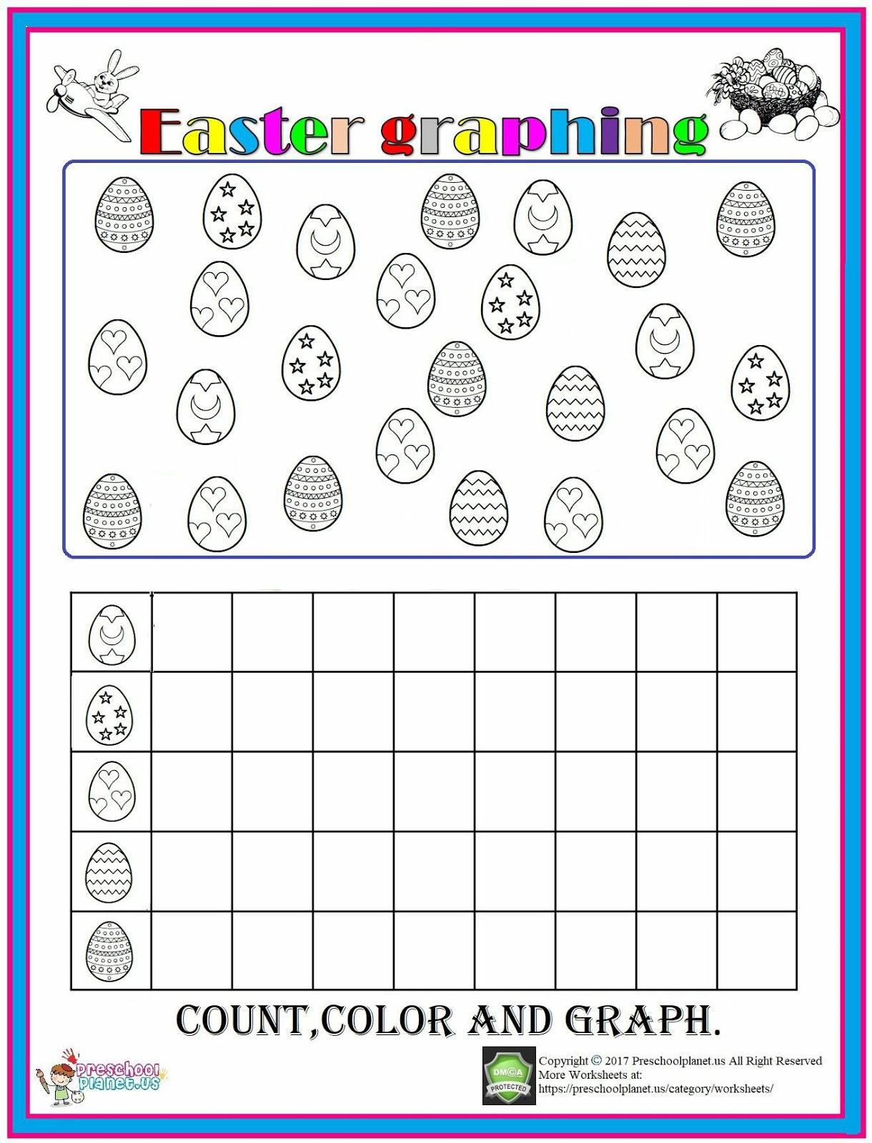 Easter Graph Worksheet