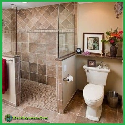 6 Decoration design for small size bathroom