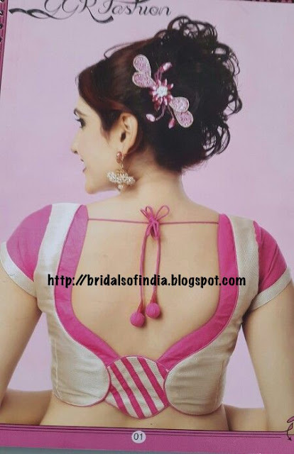 Fashion World Beautiful Blouse Designs With Knot