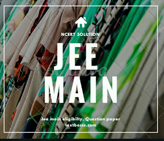 Jee main and jee advance  past year question paper