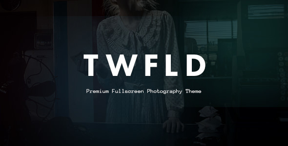 TwoFold Photography - Fullscreen Photography Theme Free Download Nulled