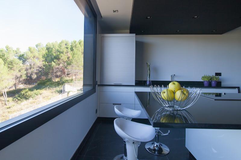 Una cocina abierta a la naturaleza - Clysa estudio