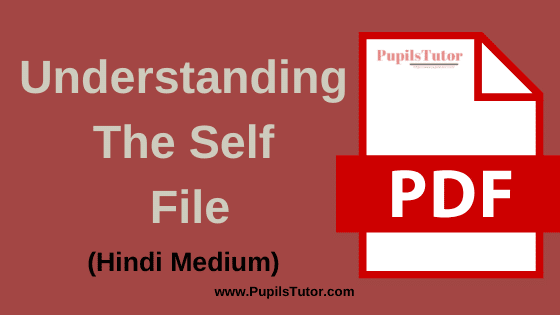 Understanding the Self and Identity B.Ed Practical File, Project and Assignment in Hindi Language for 1st and 2nd Year / All Semester Free Download PDF | आत्म बोध बी.एड प्रैक्टिकल फाइल प्रोजेक्ट और असाइनमेंट पीडीऍफ़ डाउनलोड करे फ्री में | Understanding the Self and Yoga File for B.Ed in Hindi| Understanding the Self Assignment in Hindi Medium | Understanding the Self Project Report in Hindi