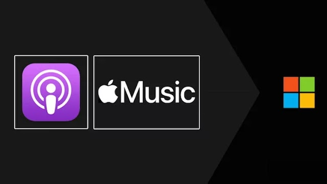 Apple is testing Music and Podcast apps for Microsoft platforms