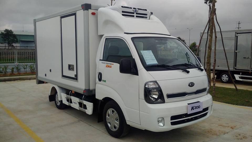 Bán xe tải Thaco K200 đời 2018 tại Hải Phòng tiêu chuẩn khí thải Euro4