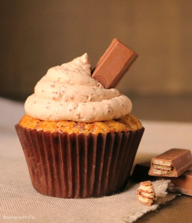 cupcakes de kit kat
