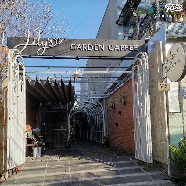 Lily's Garden Coffee - Cà phê hình ống cống vàng rực