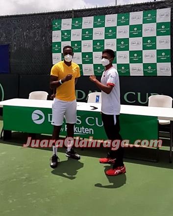 Davis Cup: Gugun Kontra Darian King di Laga Pembuka, Ini Kata Febi Widhiyanto