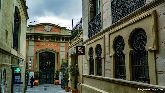 El Nacional, complexo gastronômico em Barcelona