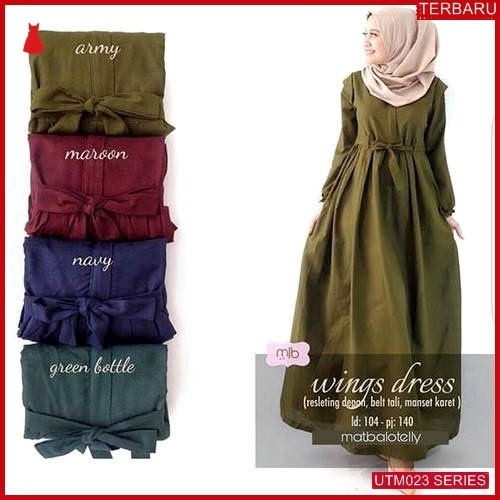 UTM023W65 Baju Wings Muslim Dress UTM023W65 017 | Terbaru BMGShop