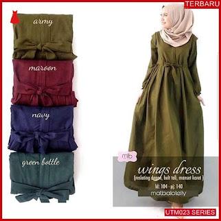 UTM023W65 Baju Wings Muslim Dress UTM023W65 017 | Terbaru BMGShop