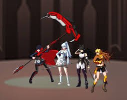 Hình Ảnh RWBY SS4  Red White Black Yellow 4
