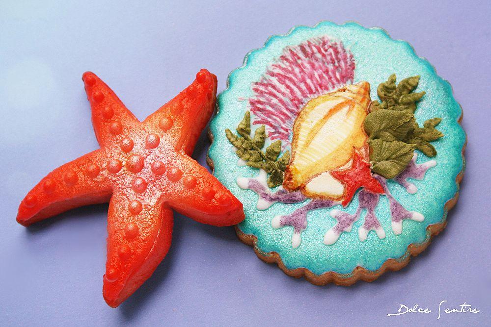 Cómo hacer el 'efecto agua' en tus galletas {Foto Tutorial}