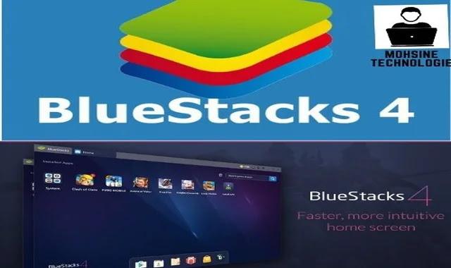 تطبيق بلوستاكس  BleuStacks لتشغيل تطبيقات الاندرويد على الكمبيوتر
