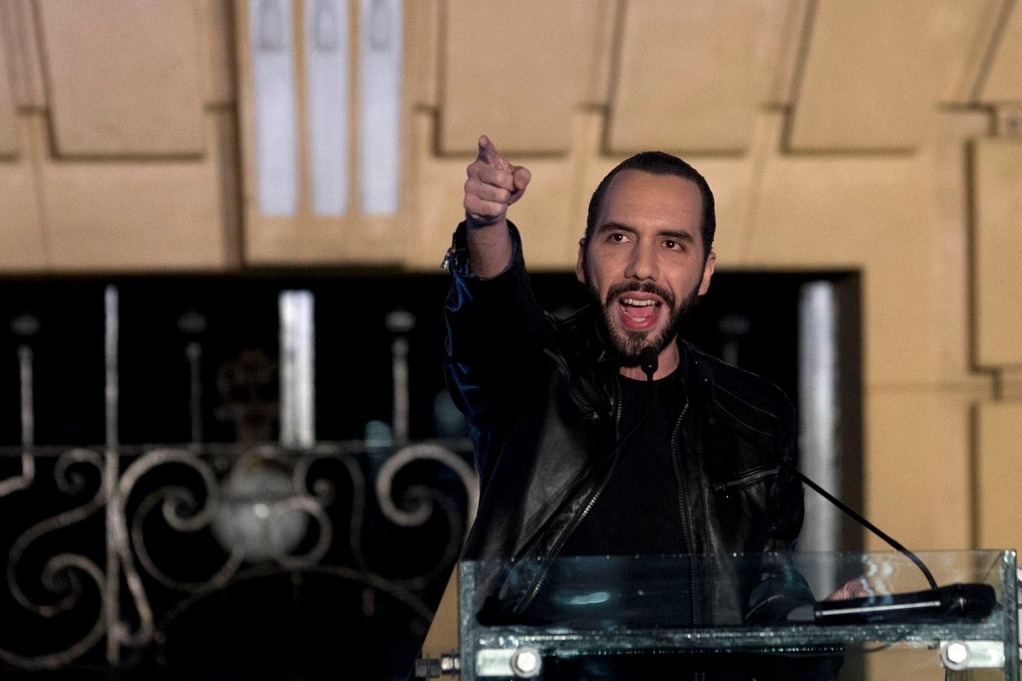 Bukele defends El Salvador on migration, crime, raps neighbors
