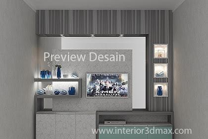 Jasa Design Backdrobe TV Rumah Kantor Cafe Keren
