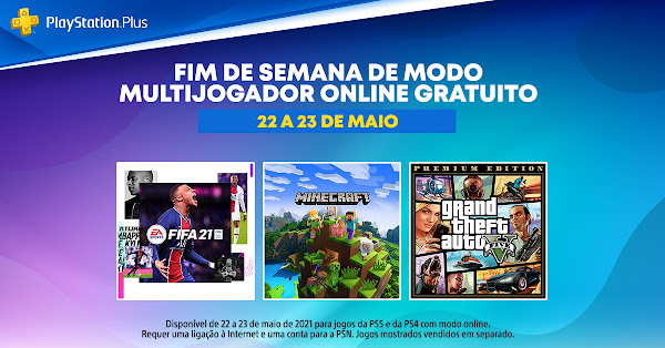 Days of Play 2021 traz Fim de Semana Multijogador Online Gratuito do PlayStation®Plus a partir de hoje