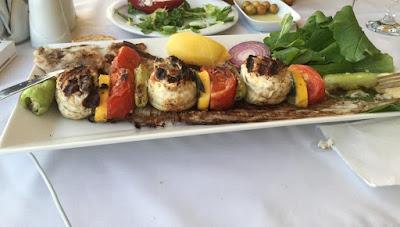 Akçay balık menü