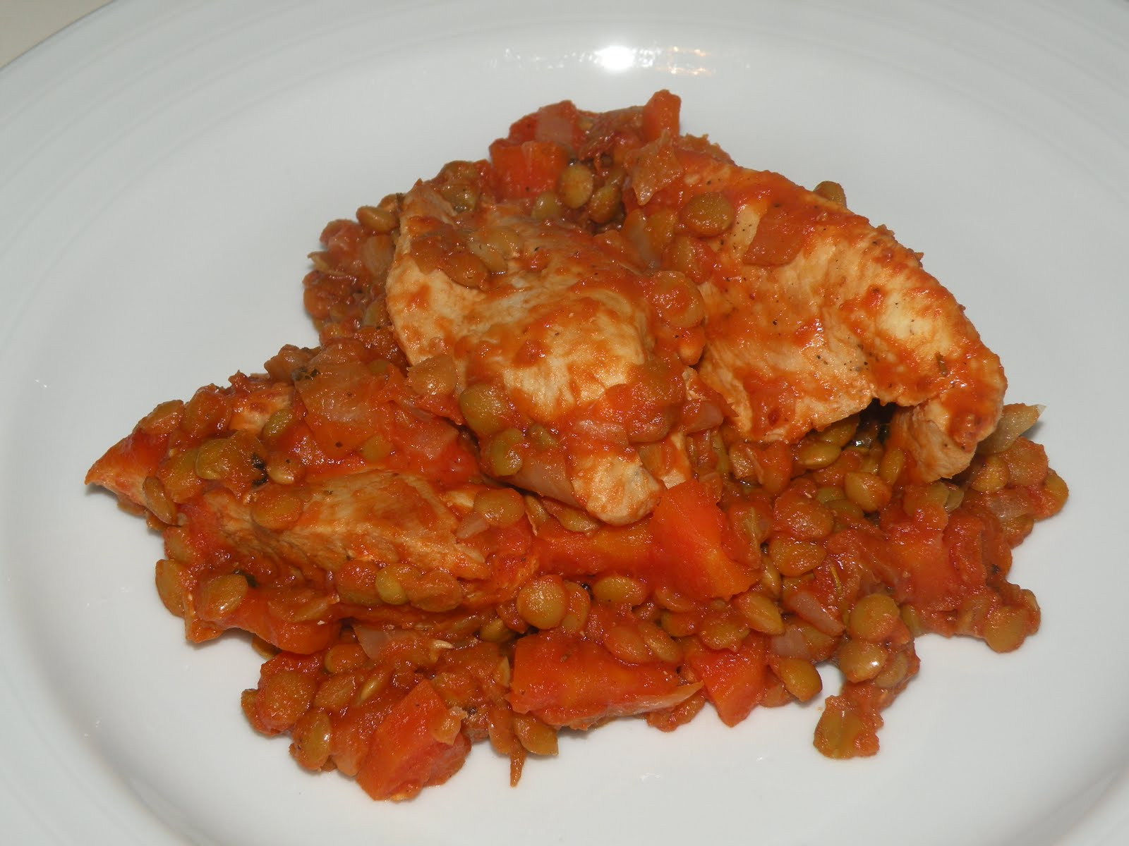 How To Cook Lentils With Chicken