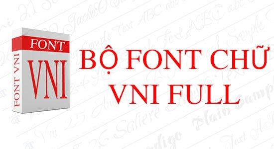 Chia sẻ Font VNI Times Full tuyệt đẹp dành cho dân thiết kế
