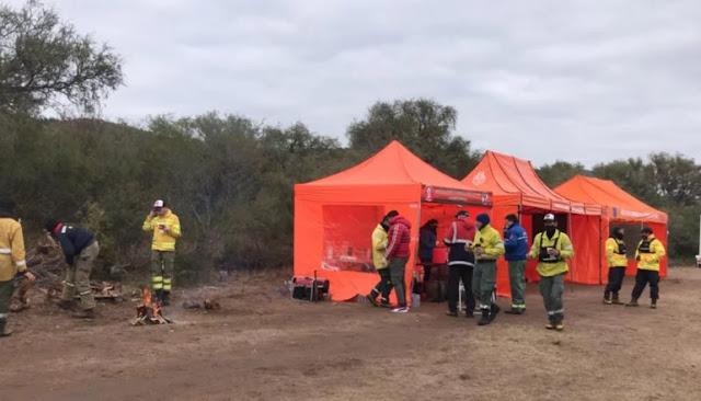 Guadalupe: este sábado la buscarán drones del Ejército y bomberos voluntarios de Mendoza y Córdoba