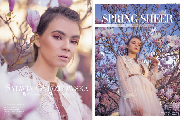 Spring Sheer for Creators Mag
