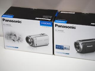デジタルビデオカメラ パナソニック HC-W590MとHC-V480MS 買い取りました