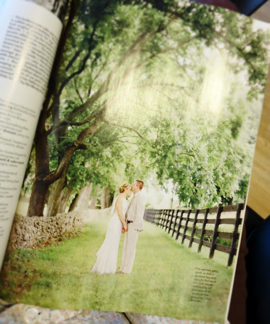 Brides Magazine: Lovely couple