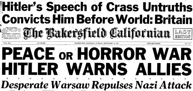 Bakersfield Californian September 19 1939 worldwartwo.filminspector.com