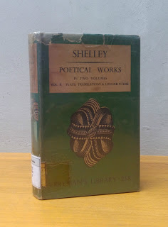 POETICAL WORKS, Percy Bysshe Shelley