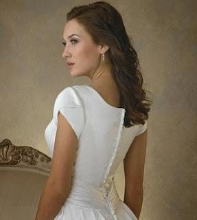 manga tulipán vestido de novia