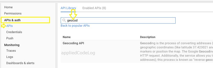 Using Google Geocoding and Reverse Geocoding API in Xamarin