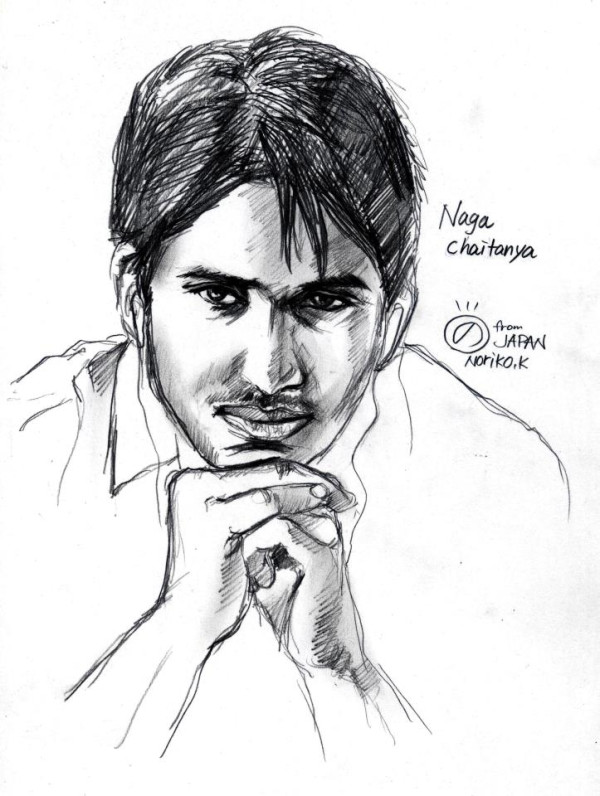 Chiranjeevi Sketch By Japan Girl - Discussions ...