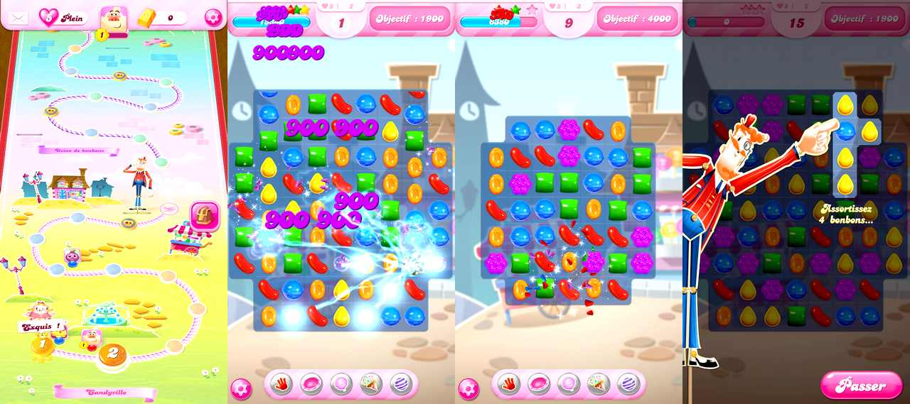 Candy Crush Saga pour Android
