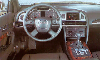 tablero interior audi A6 allroad