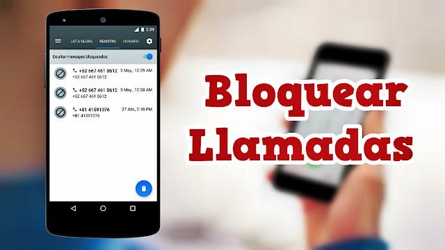 La mejor aplicación para bloquear llamadas y mensajes - Calls Blacklist