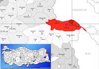 Karakoyunlu ilçesinin nerede olduğunu gösteren harita