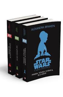 Pachet Star Wars - 3 carti -se pot comanda online aici